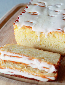 Meyer Lemon Olive Oil Yogurt Cake | kitchentreaty.com