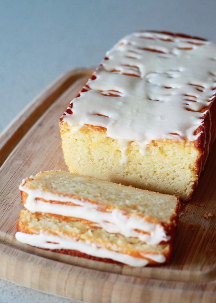 Meyer Lemon Olive Oil Yogurt Cake recipe - Yogurt and olive oil join forces to give this loaf its luxe, super-moist texture; fresh Meyer lemons give it that unbeatable tart-sweet flavor.