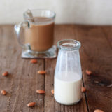 How to make thick, rich, and creamy almond milk coffee creamer | kitchentreaty.com