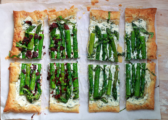 Easy vegetarian asparagus recipes