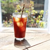 How to Make Cold-Brewed Iced Coffee Concentrate | kitchentrreaty.com