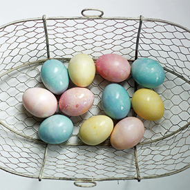 Natural Vegetable-Dyed Easter Eggs Made Easy