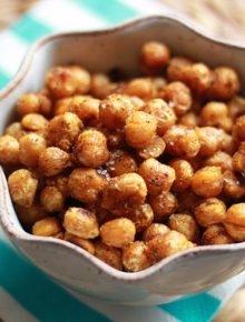 Pan-Fried Curried Chickpeas (Garbanzo Beans) | Kitchen Treaty
