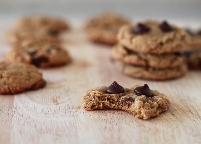 Flourless Peanut Butter Chocolate Chip Cookie Recipe