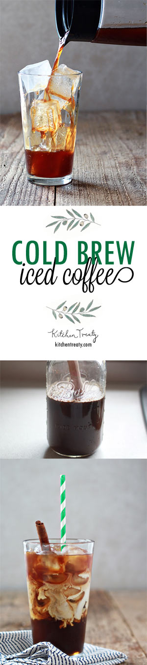 """""""The ultimate guide to making cold-brewed iced coffee concentrate at home."""