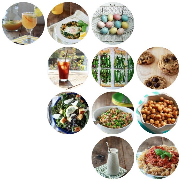 Kitchen Treaty April 2014 Recipes