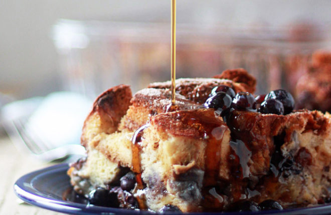 overnight-cinnamon-blueberry-french-toast