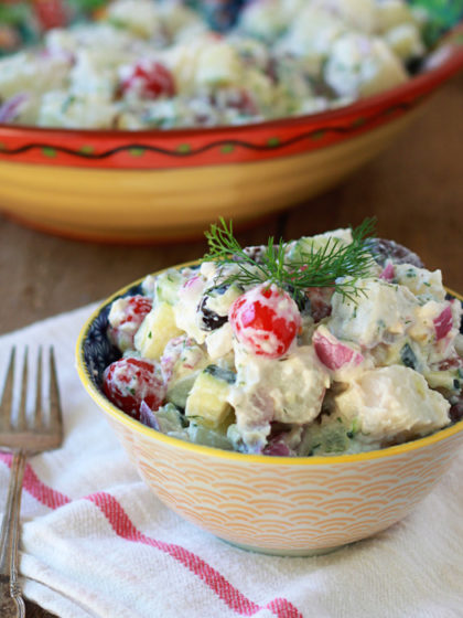 Creamy Greek Potato Salad