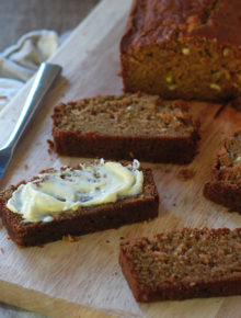 White Chocolate Chip Summer Squash Bread