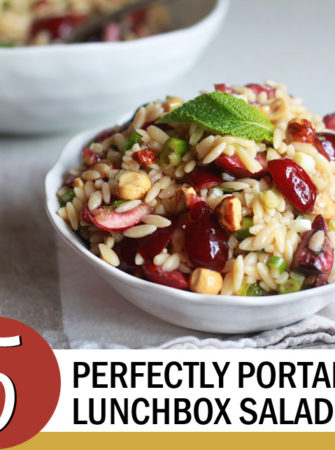 5 Perfectly Portable Lunchbox Salads