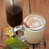 Healthier Homemade Pumpkin Spice Coffee Syrup - make your own Pumpkin Spice Lattes and flavored coffee with this healthier DIY version made with pure, whole ingredients and no cane sugar.