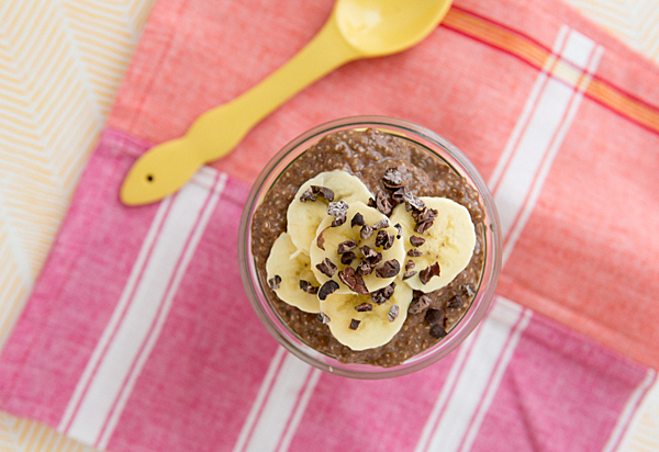 47 (Meatless!) Breakfast-for-Dinner Recipes |Chocolate Peanut Butter Chia Pudding Breakfast Parfait