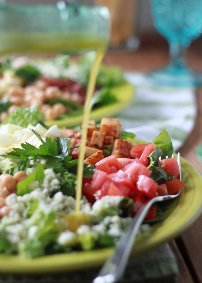 Quick & Easy Dinner: Cobb Salads #1dish2ways