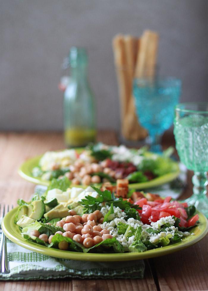 Quick & Easy Dinner: Cobb Salads #1dish2ways