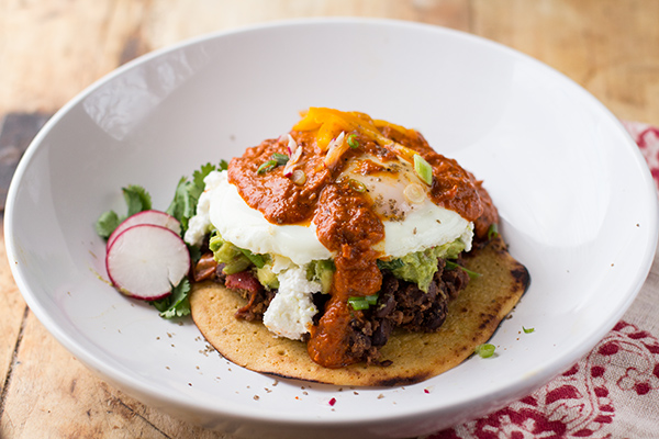 Heuvos Rancheros with Grain-Free Tortillas