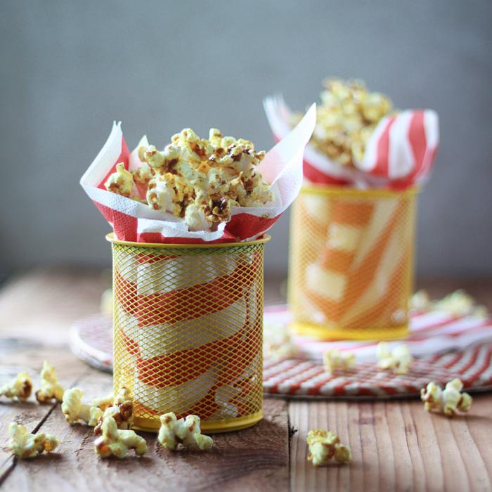 Spicy Curry Popcorn Kitchen Treaty Recipes