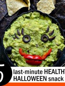 5 Last-Minute Healthy Halloween Snack Ideas