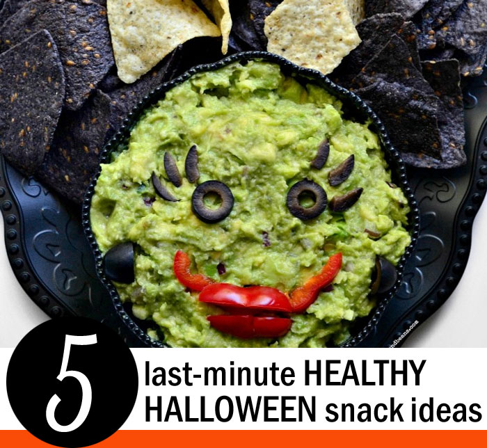 5 Last-Minute Healthy Halloween Snack Ideas