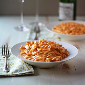 Stove-Top Butternut Squash Mac and Cheese - Tender pasta generously slathered in quite possibly the most rich and creamy cheese sauce you've ever encountered. And it's ready in under 30 minutes!