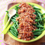 Sauteed Green Beans with Smoky Shallots