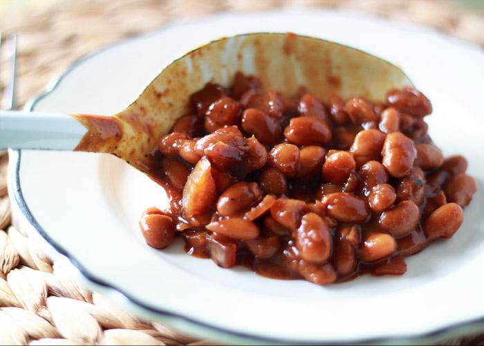 Slow Cooker Pumpkin Baked Beans