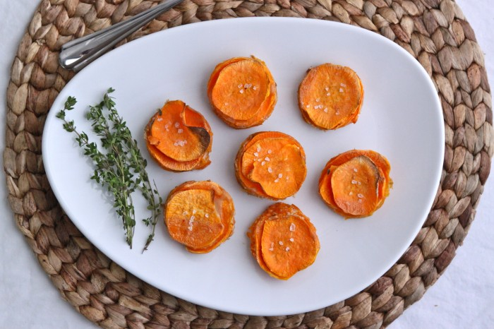 127 Vegetarian Recipes Everyone Will Love - Sweet Potato Stacks from The Corner Kitchen