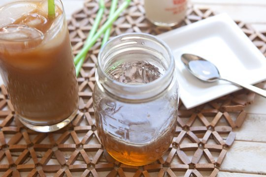 5 DIY Coffee Syrup Recipes (Perfect for Last-Minute Gifting!) - Caramel Coffee Syrup from The Kitchn