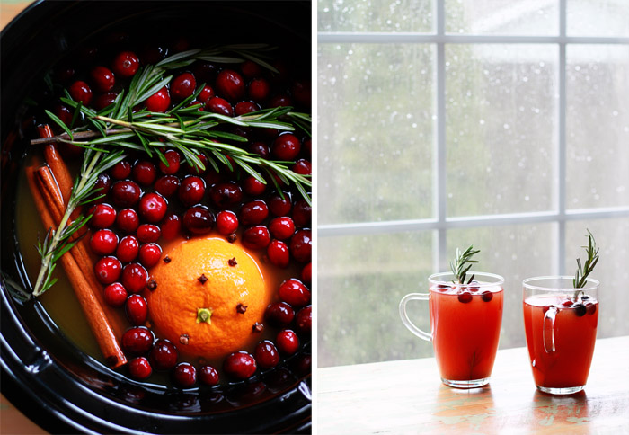 Rosemary-Cranberry Mulled Cider - This Crock Pot spiced apple cider ...
