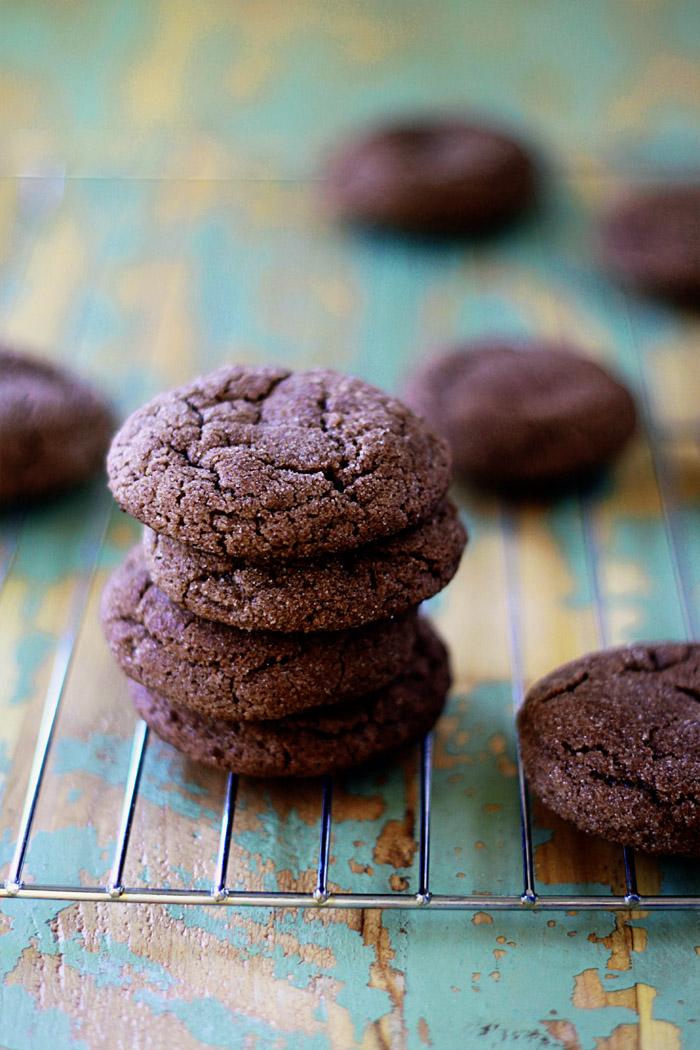 55. Sparkly Chocolate Snickerdoodles | Kitchen Treaty
