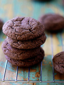 Sparkly Chocolate Snickerdoodles