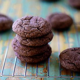 Sparkly Chocolate Snickerdoodles