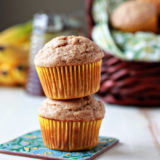 Honey-Sweetened Spiced Banana Muffins recipe