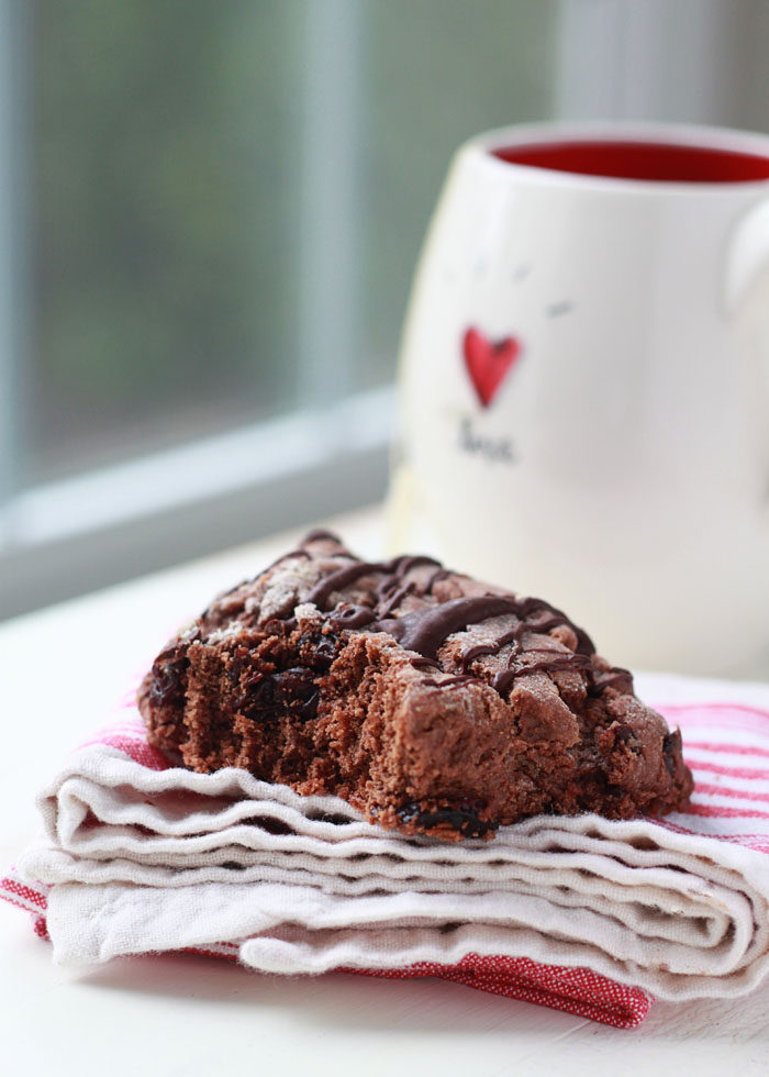 Chocolate Cherry Scones recipe