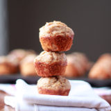 Peanut Butter Quinoa Mini Muffins recipe