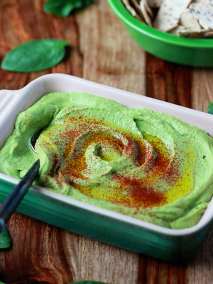 Spinach Hummus recipe