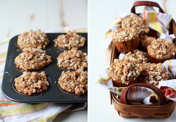 Vegan Tropical Muffins with Crunchy Coconut Streusel recipe