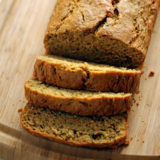 Olive Oil Zucchini Bread with Lemon & Cardamom