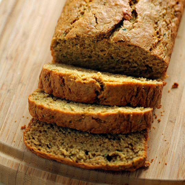 Olive Oil Zucchini Bread with Lemon & Cardamom - Kitchen ...