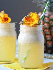 Create a paradise anytime, anywhere with this easy 5-ingredient Pop-Up Paradise Rum Punch.