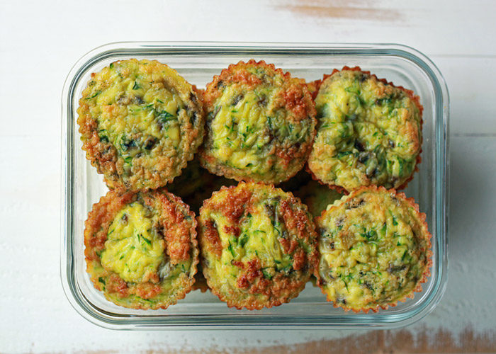 Super simple yet utterly delicious, these easy Zucchini & Fresh Herb Mini Frittatas are the perfect make-ahead breakfast or hearty snack.