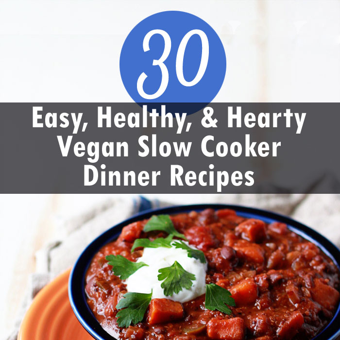 30 vegan slow cooker dinner recipes kitchen treaty for Crock pot vegetarian recipes healthy