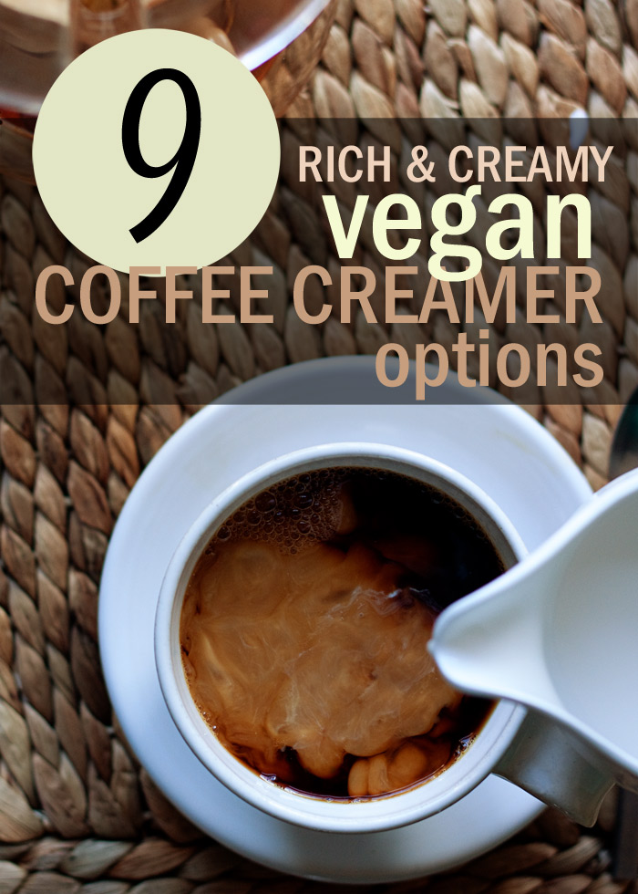 9 Vegan Coffee Creamer Options