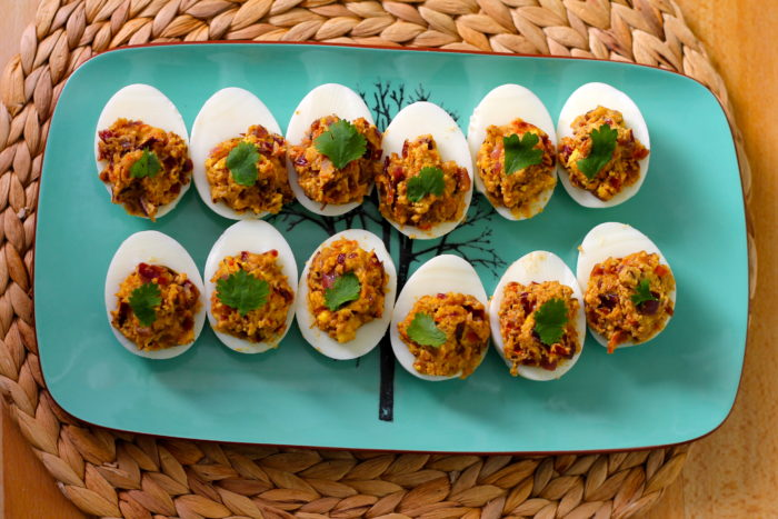 Curried Deviled Eggs from The Muffin Myth - One of 21 deliciously ...
