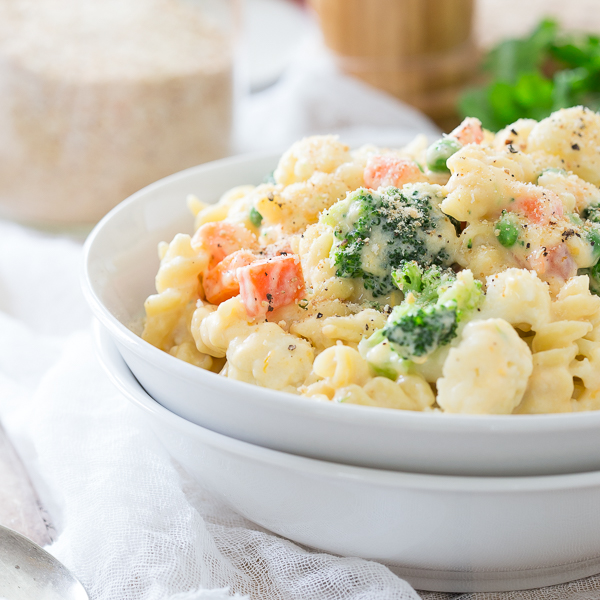 Veggie Lovers' Stovetop Mac and Cheese