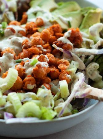 Buffalo Chickpea Salad
