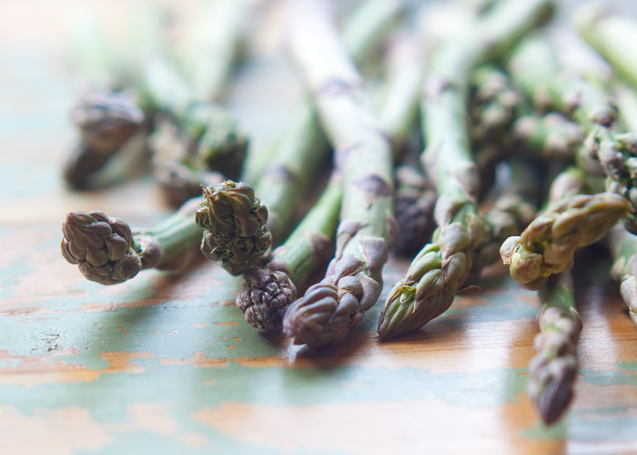 Three ways to prepare delicious asparagus! Step-by-step instructions with photos for prepping and roasting in the oven, blanching on the stove, or on the grill!