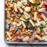 Sheet Pan Tofu & Veggie Dinner