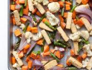 Sheet Pan Tofu & Veggie Dinner