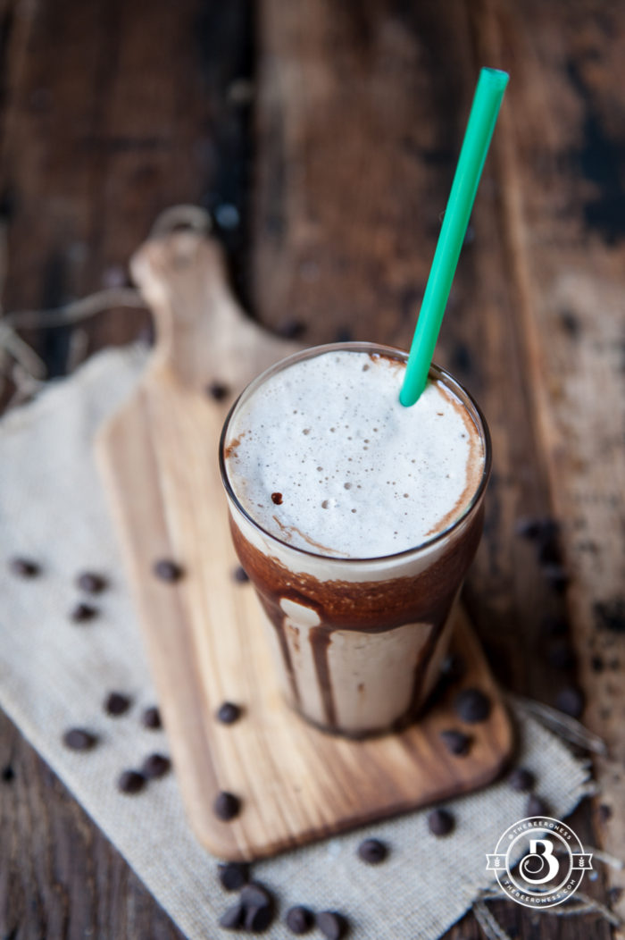 10 ways to upgrade your iced coffee! Shake it, freeze it, flavor it ... so many ways to up your iced coffee game. Like this Chocolate Stout Frap-brew-cino from @jaxdodd
