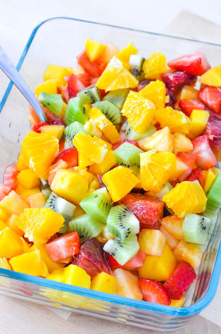 41 Fantastic Fruit Salsa Recipes - like this Fruit Salsa from @knowyourproduce